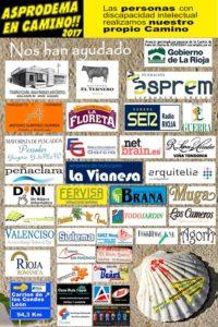 Sulema colabora un año más con Asprodema en camino. 2
